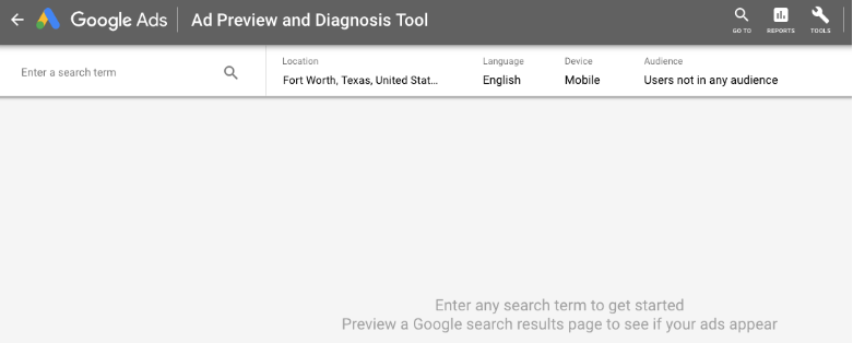 ad-preview-diagnostics-tool