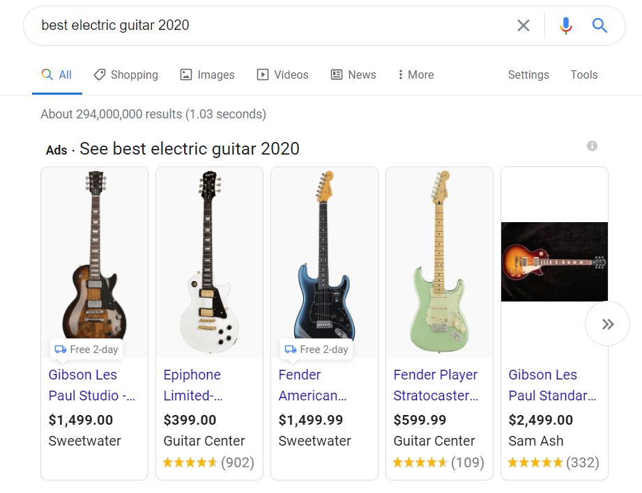 best-electric guitar