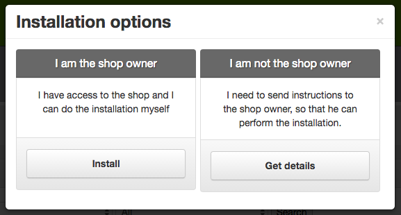 LightSpeed and SEOshop Install Options on Shopify