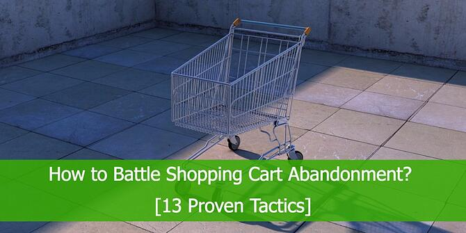 How to Stop Shopping Cart Abandonment