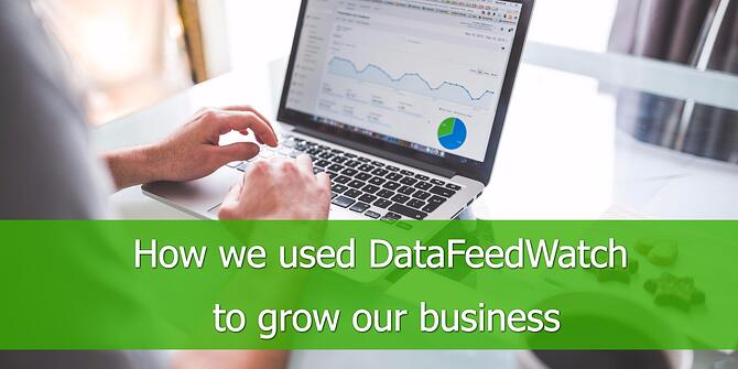 How we used DataFeedWatch to Grow our Business
