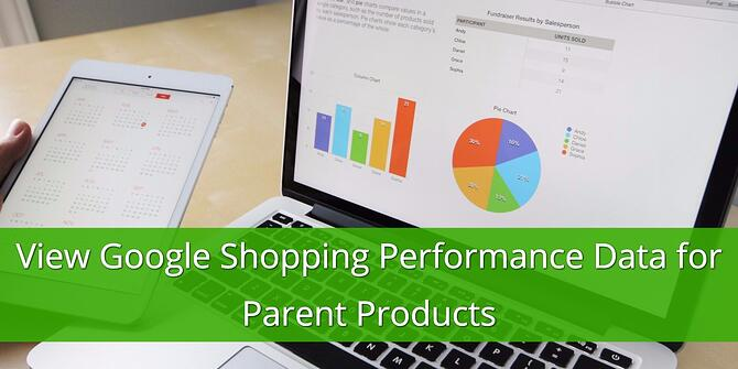 View Google Shopping Performance Data for Parent Products