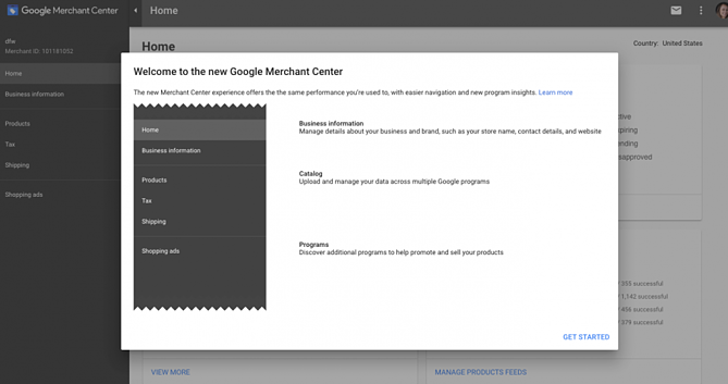 Welcome to Google Merchant Center Update