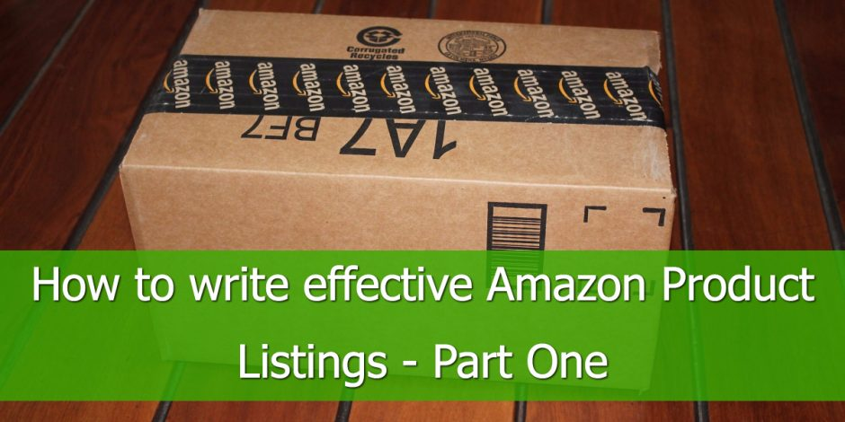 How to Write Amazon Product Listings