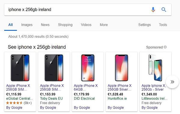 google_merchant_promotion_Iphone_ads