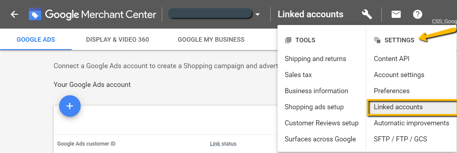 link-merchant-center-to-google-adwords-account