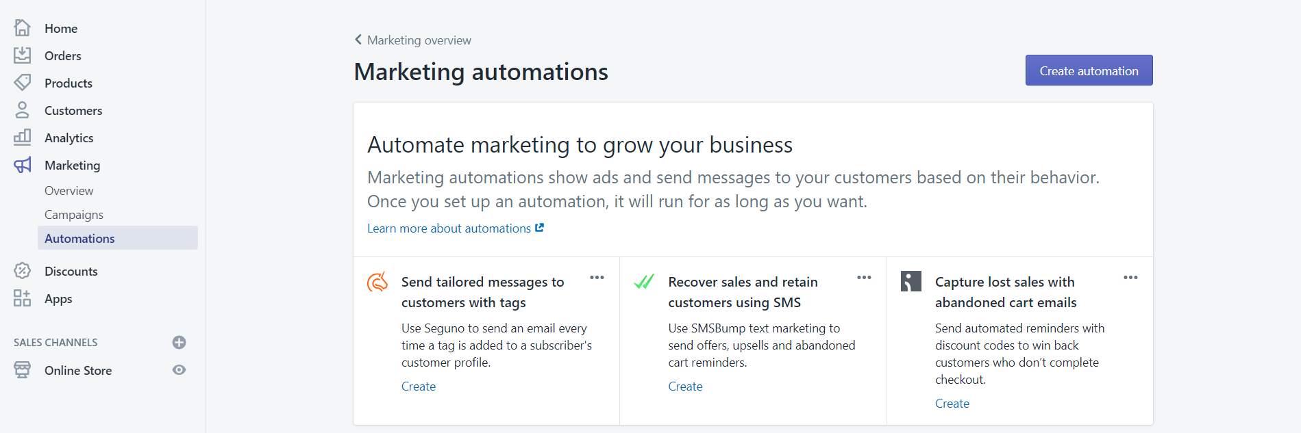 shopify-marketing-automation