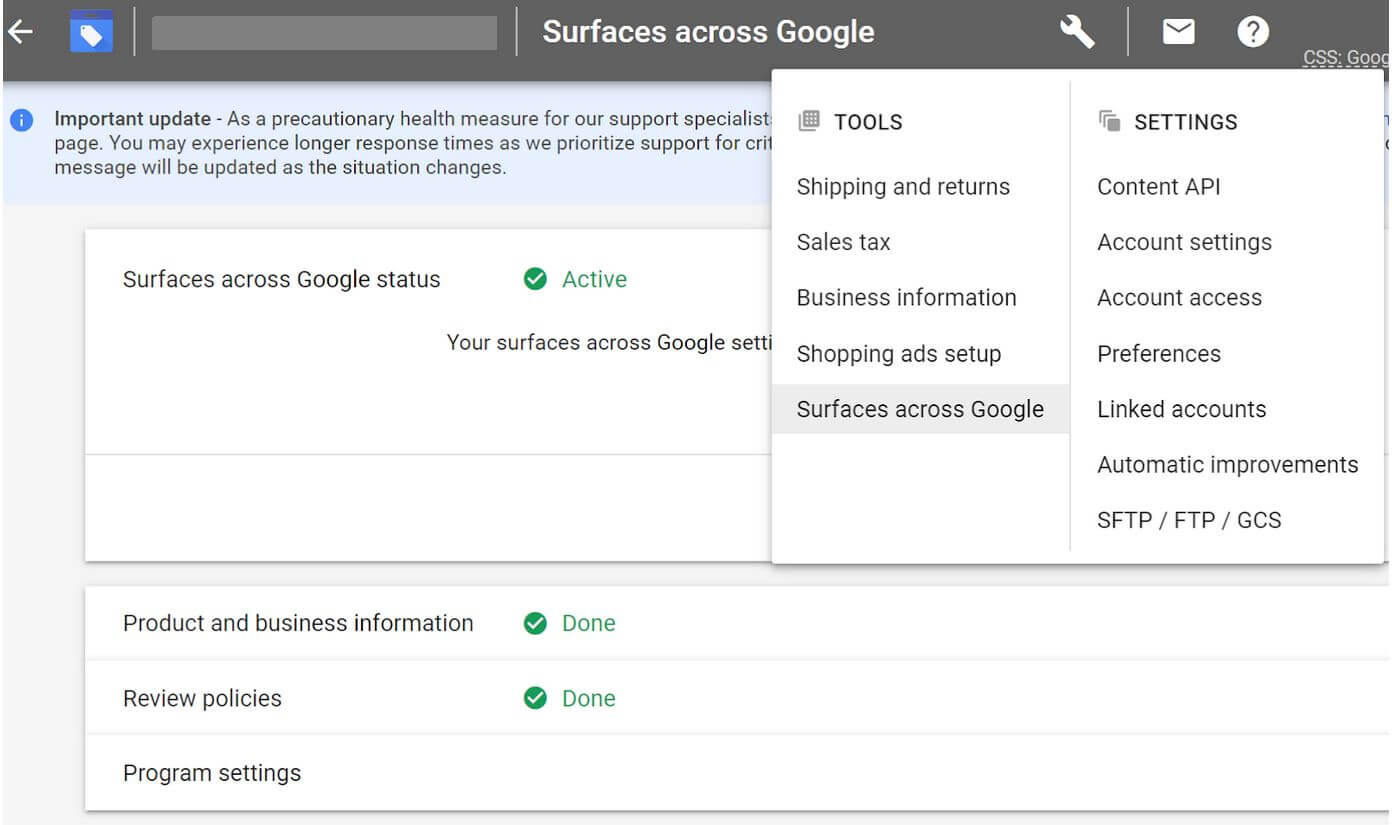 surfaces-across-google