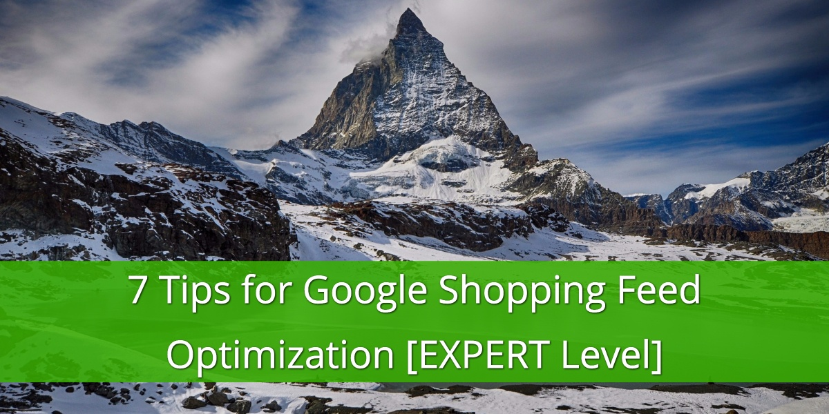expert-google-shopping-feed-optimizations